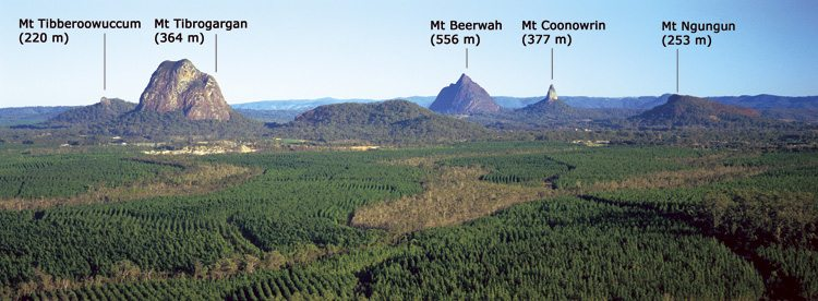 Glasshouse Mountains Image