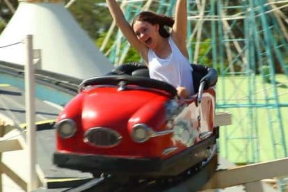 Wild Mouse Rollercoaster