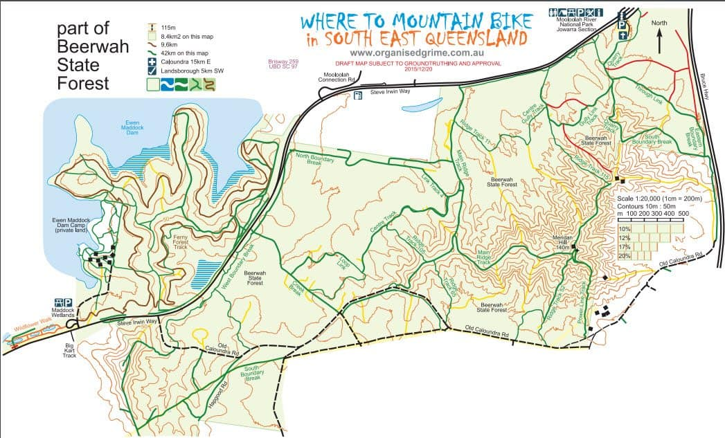 Beerwah Mountain Bike Trails