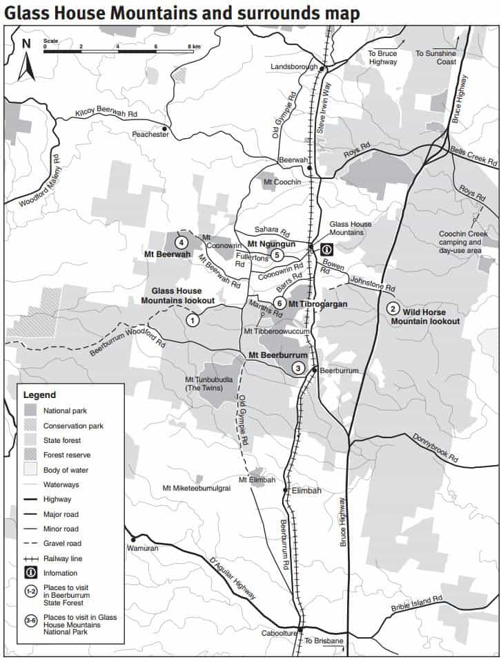 Beerburrum state forest camping walks 4wd track map for House of tracks