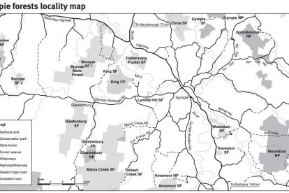 Gympie Locality Map