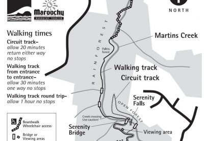Buderim Conservation Park Map