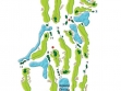 Twin Waters Course Map