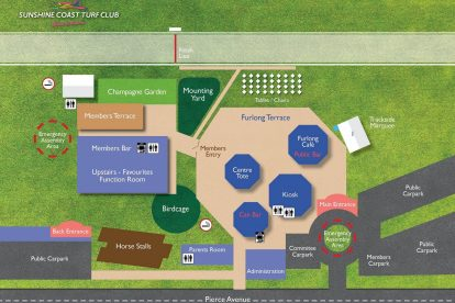 Sunshine Coast Turf Club Map