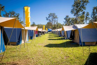 Gympie Music Muster Camping