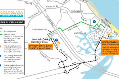 Shuttle Bus Park and Ride