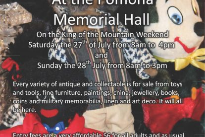 Antiques and Collectables flyer